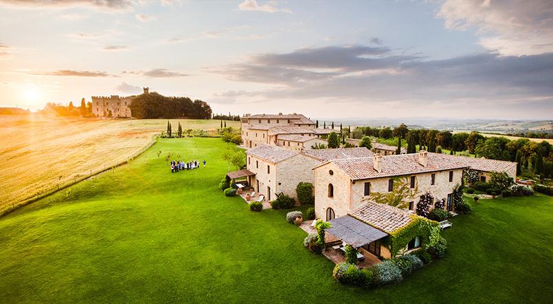 Virushka Wedding Venue Borgo Finocchieto - Laffaz Media