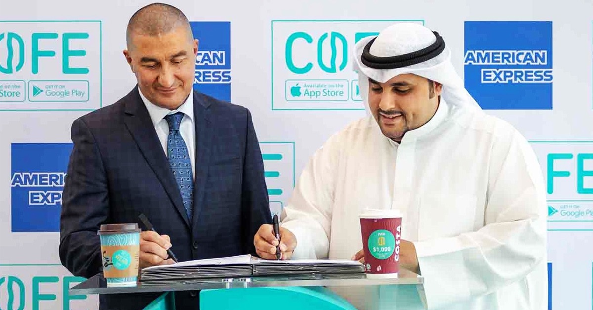 Kuwait's COFE Partners with American Express Middle East