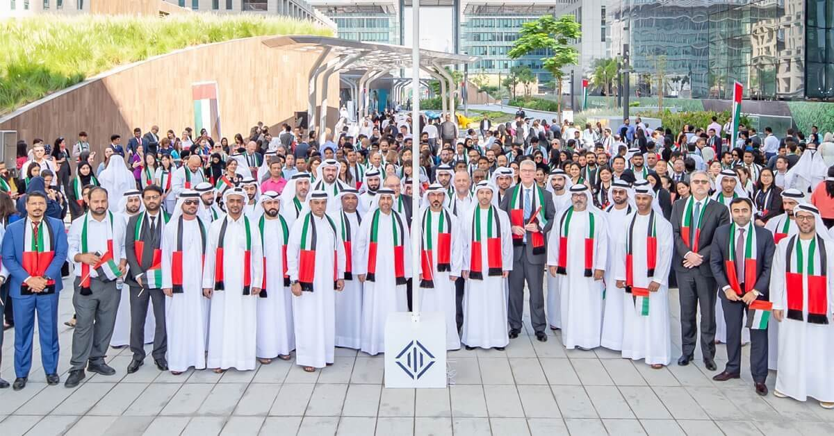 Dubai International Financial Centre Marks UAE Flag Day