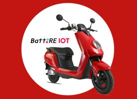 BattRE Launches Internet Connected Electric Scooter–BattRE IOT on Amazon India