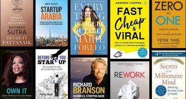 Top 40+ business books for startups & entrepreneurs of today's era