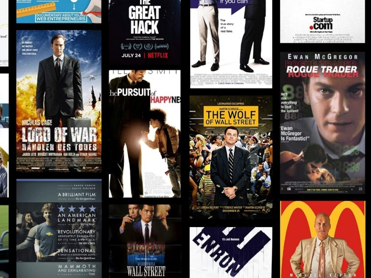 Top 20 inspirational startup movies for entrepreneurs & founders