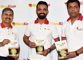 Indian cricketer Ajinkya Rahane invests in organic food startup MeraKisan