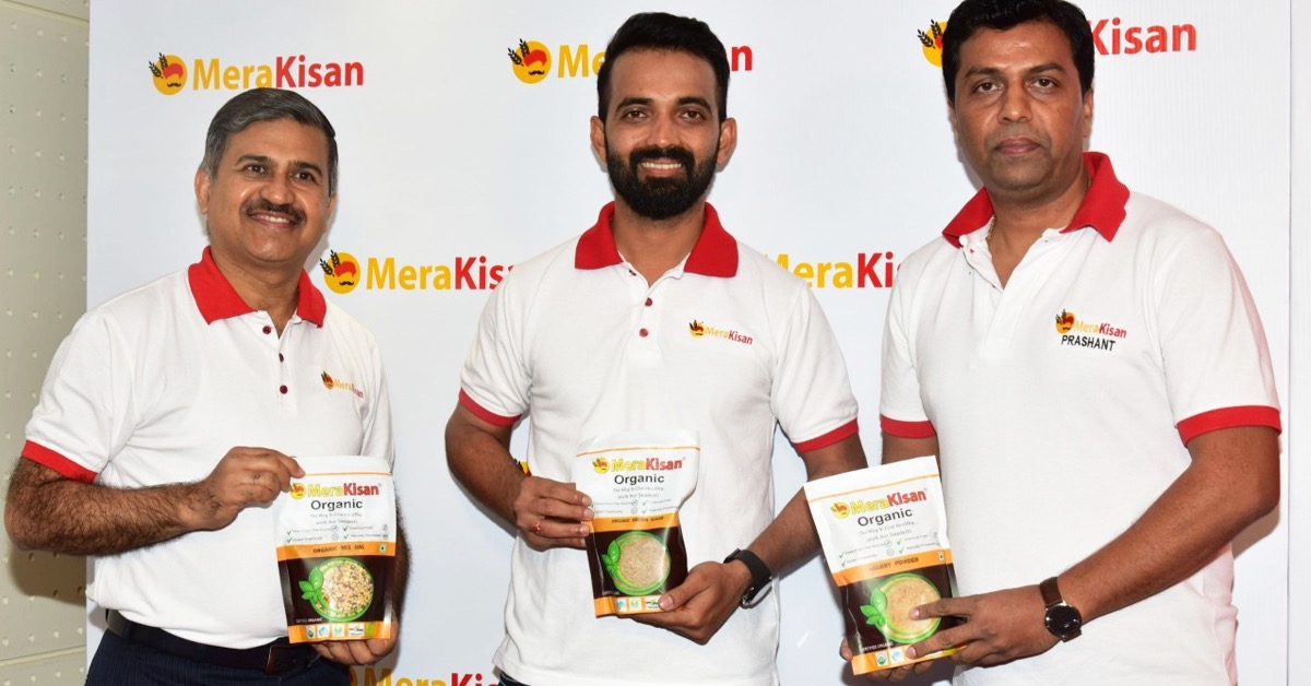 Indian cricketer Ajinkya Rahane invests in organic food startup MeraKisan