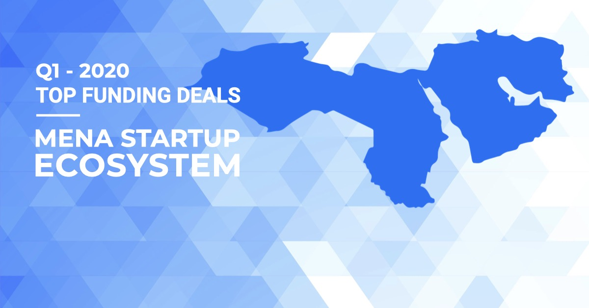 MENA startups raised $277 Mn in Q1 2020 - Top funding deals