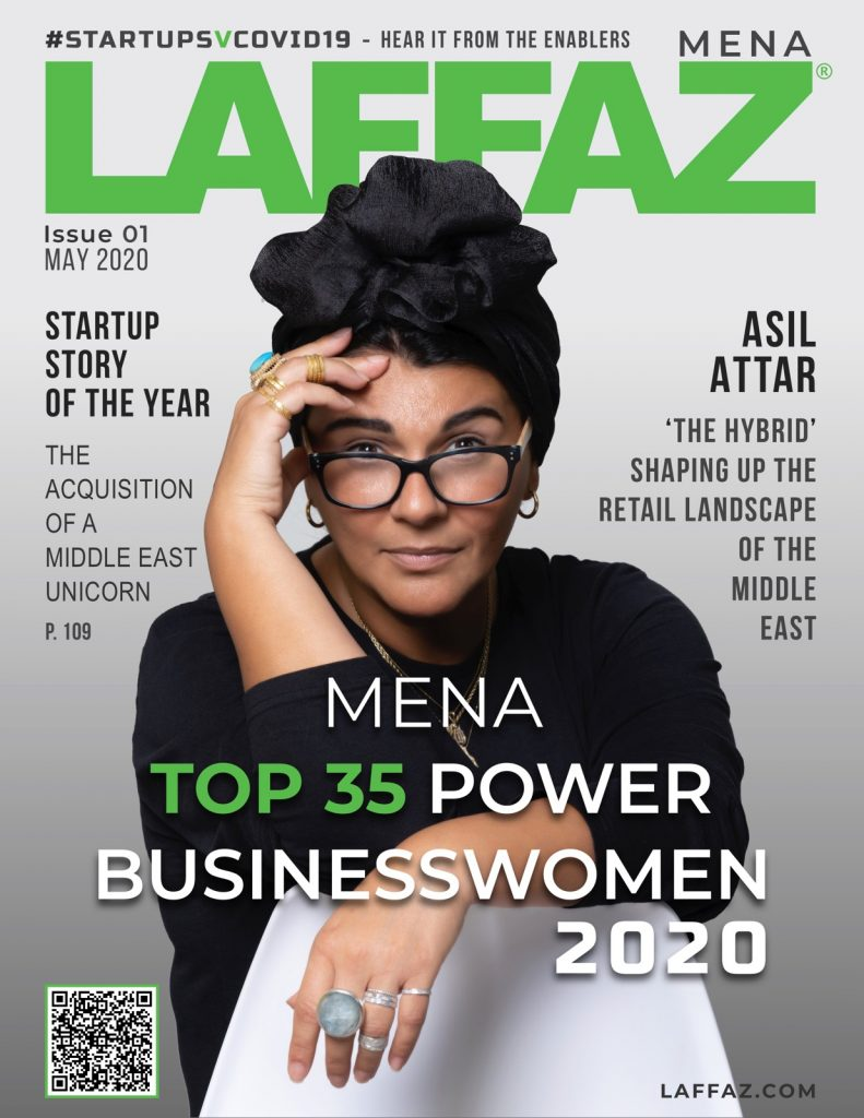 [Magazine] MENA Top 35 Power Businesswomen 2020 Cover