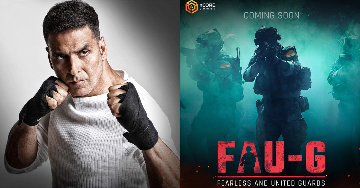 Following the ban of PUBG along with other 117 Chinese apps by the Government of India, Akshay Kumar, a Bollywood superstar introduced FAU-G, a multiplayer action game similar to PUBG. The full form says 'Fearless and United: Guards'