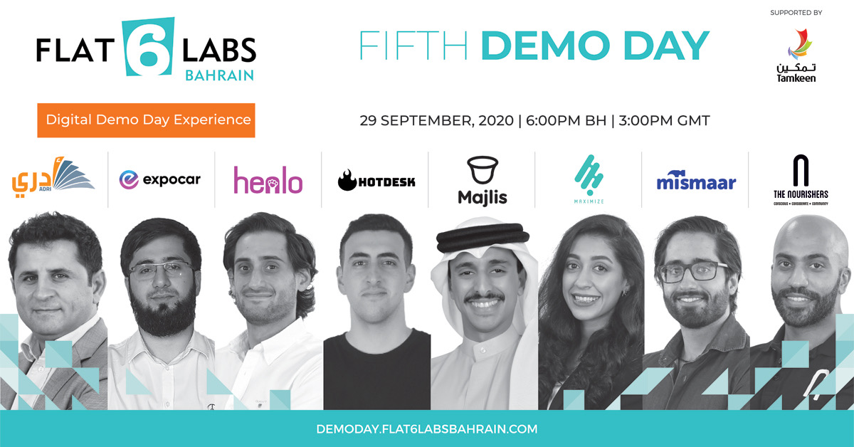 Flat6Labs Bahrain's 5th cycle selects 8 innovative startups