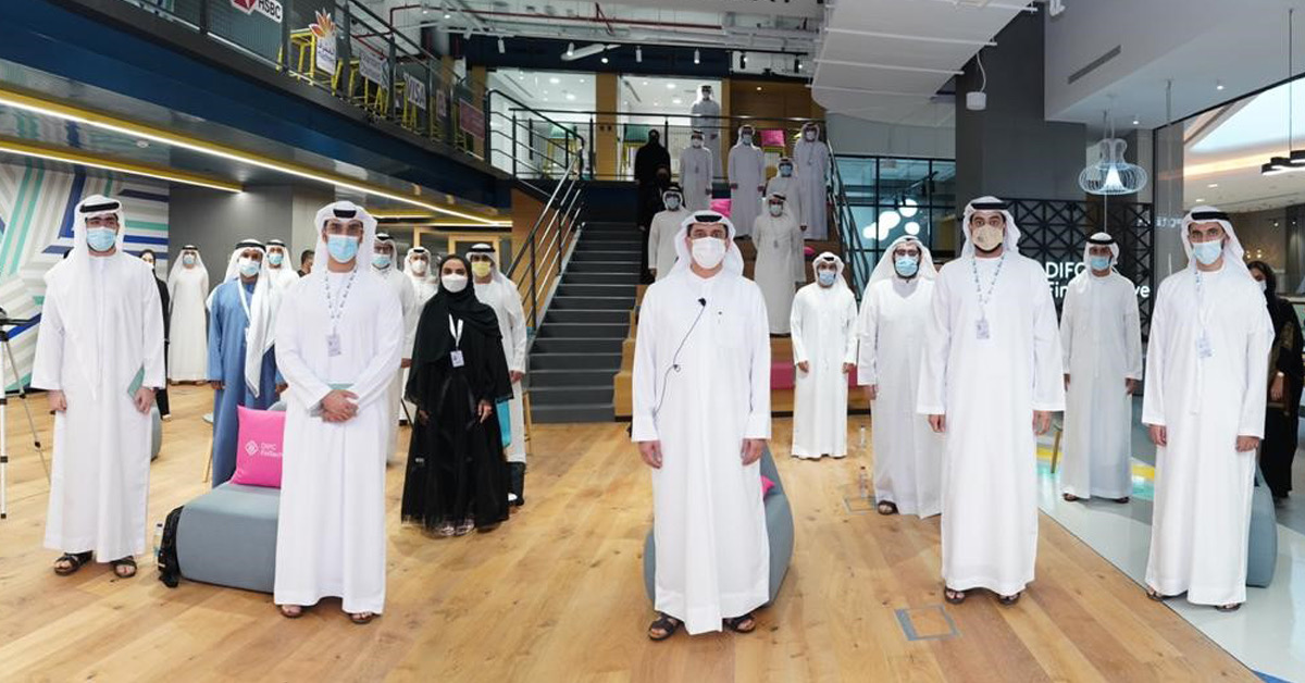 DIFC hosts inaugural cohort of Emirati students from the Federal Youth Authority's Young Economist Programme