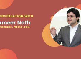 Exclusive Interview: Sameer Nath, Co-founder of Meekd.com, a new global search engine