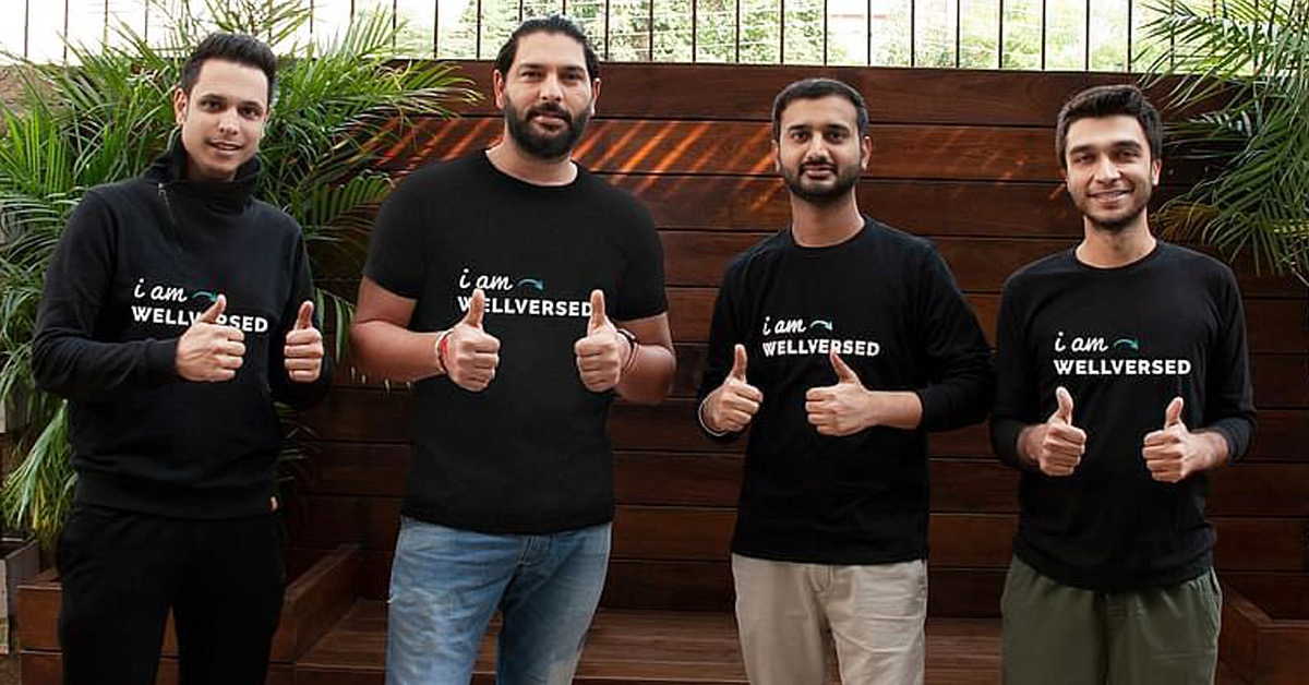 Former Indian cricketer Yuvraj Singh invests in healthcare startup 'Wellversed'