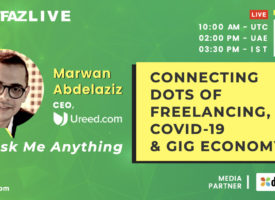 AMA with Ureed's Marwan Abdelaziz on Freelancing, COVID-19 & Gig Economy