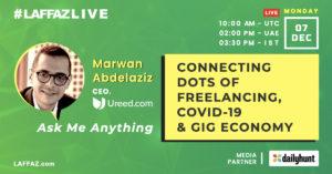 AMA with Ureed's Marwan Abdelaziz on Freelancing, COVID-19 & Gig Economy