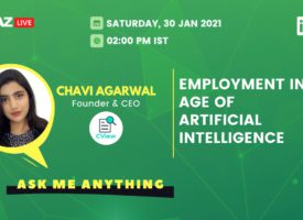 AMA with CView founder Chavi Agarwal on 'Employment in the Age of Artificial Intelligence'
