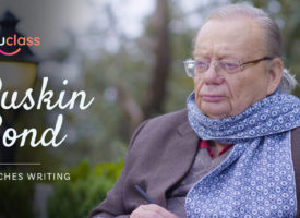 Ruskin Bond joins Unluclass as a Mentor - Delight for budding writers