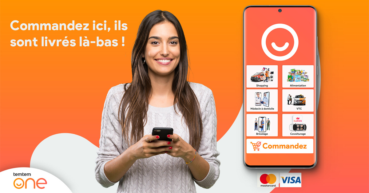 [Exclusive] temtem One Super App now allows diaspora to pay for goods & services for their relatives in Algeria
