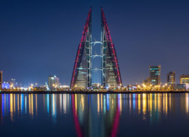 Bahrain ranks 1st in the Middle East & 5th in MEA for cost competitiveness and FDI strategy