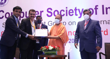 Ministry of Tribal Affairs bags 'Award of Appreciation' in the 18th CSI SIG eGovernance Awards 2020