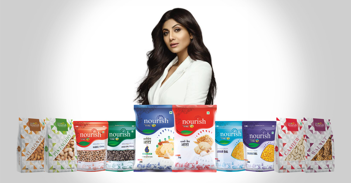 Bollywood diva Shilpa Shetty endorse BL Agro's brand 'Nourish'