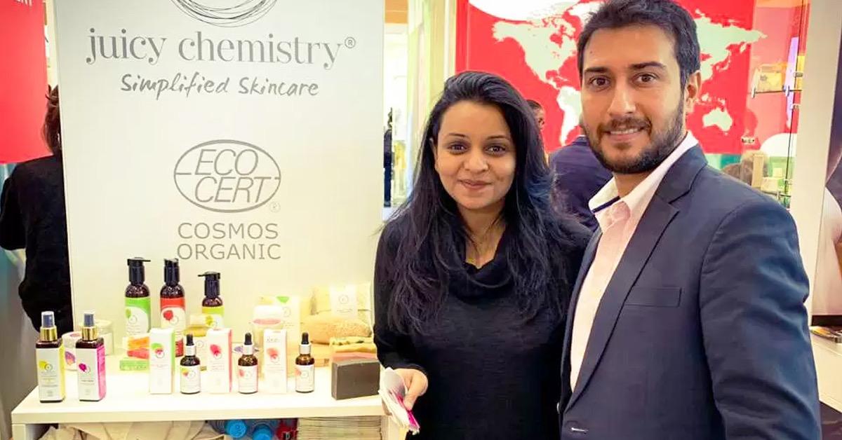 Juicy Chemistry, Tamil Nadu's D2C brand raises $6.3 Mn from Belgium's Verlinvest