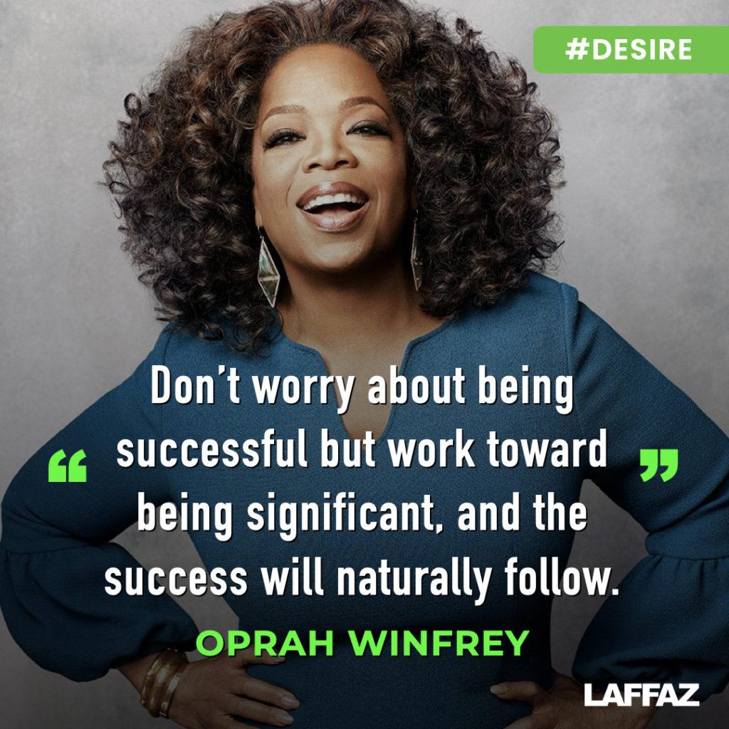 motivation quotes Oprah winfrey