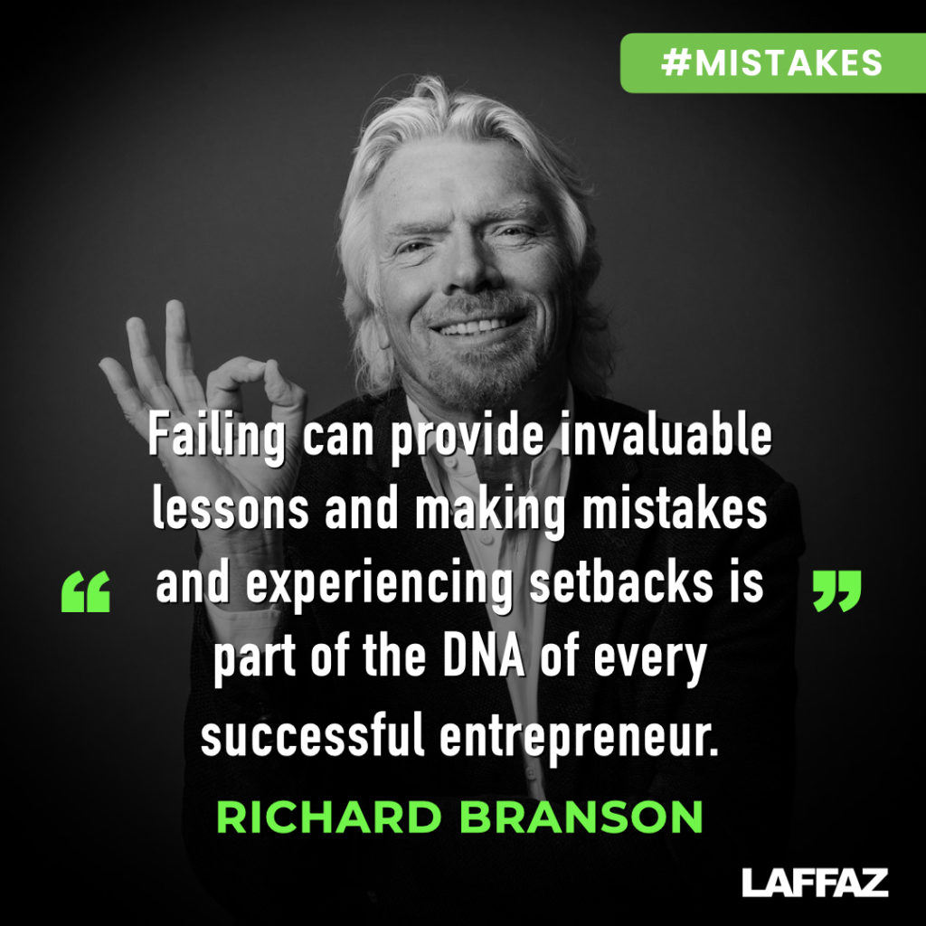 richard branson quote making mistakes