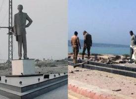 BLA blasts Jinnah Statue